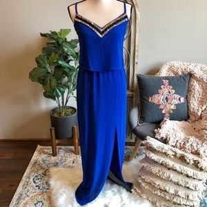 Cache embellished maxi dress Brand new with tags💋